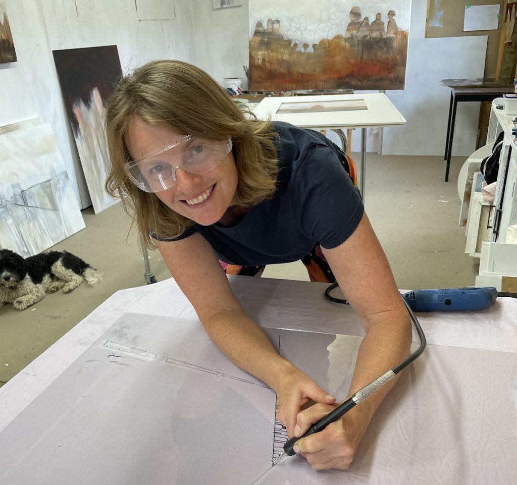 Odelle Morshuis sculptor and artist