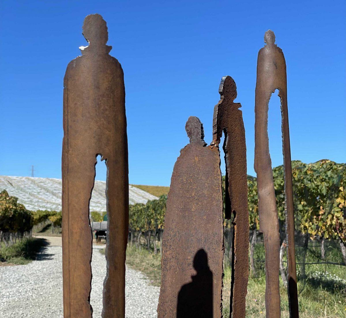 Steel sculpture by Odelle Morshuis
